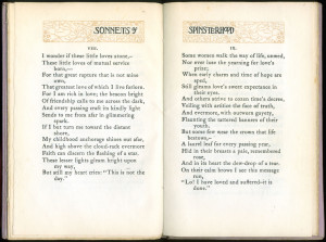 """Page 14-15 of """"Sonnets of Spinsterhood"""""""