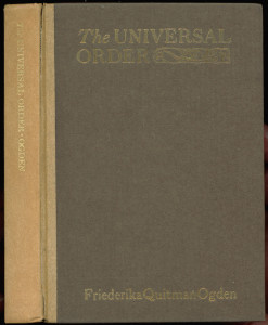 "Cover of ""The Universal Order"""