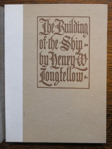 "Cover of ""The Building of the Ship"""