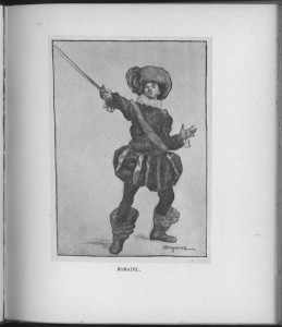 """Bobadil,"" plate opposite page 6"